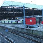 Promotie hogesnelheidstrein Perron 5 Breda